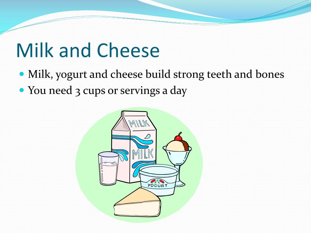 Milk and Cheese