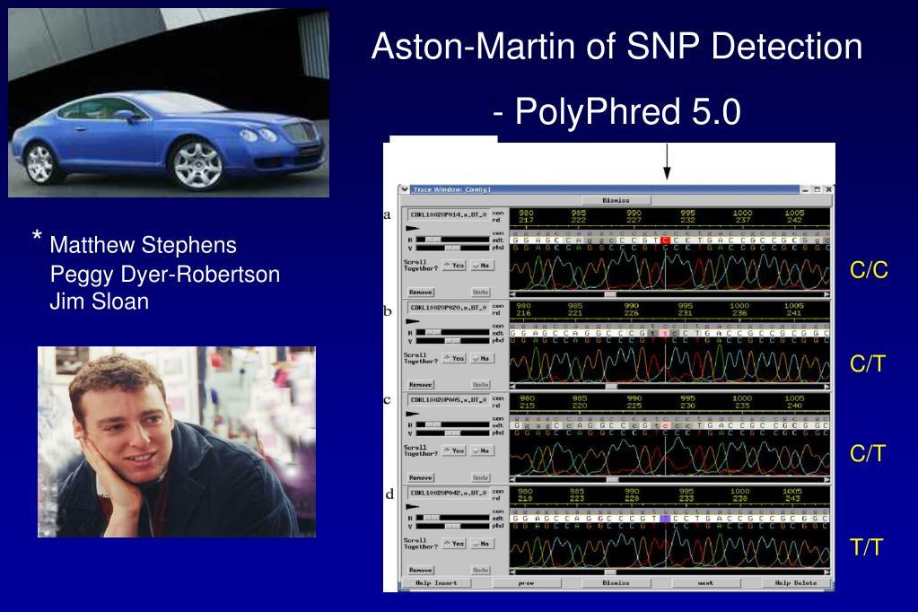 Aston-Martin of SNP Detection