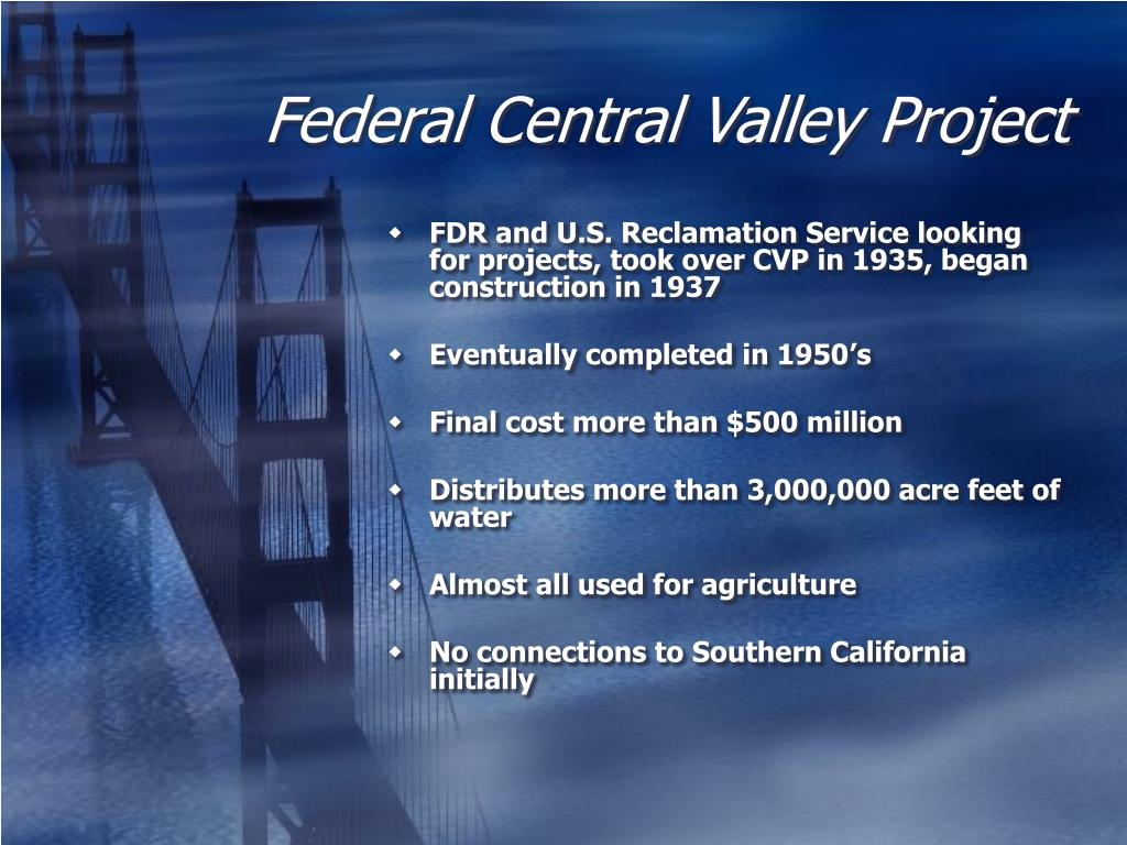 Federal Central Valley Project