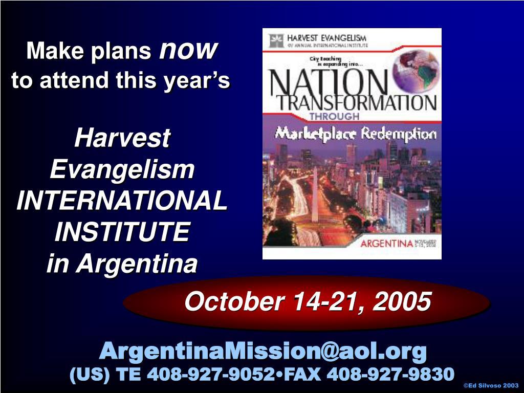 October 14-21, 2005