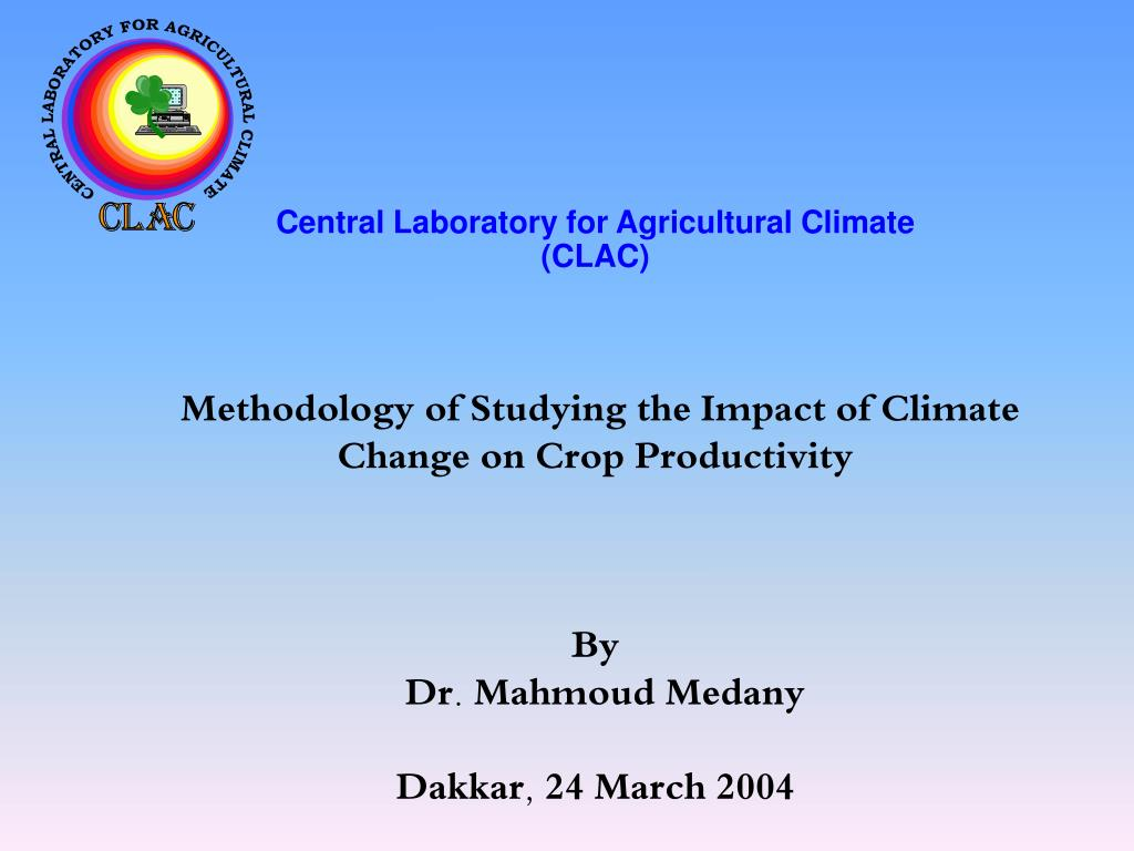 Central Laboratory for Agricultural Climate