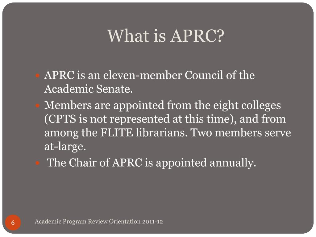 What is APRC?