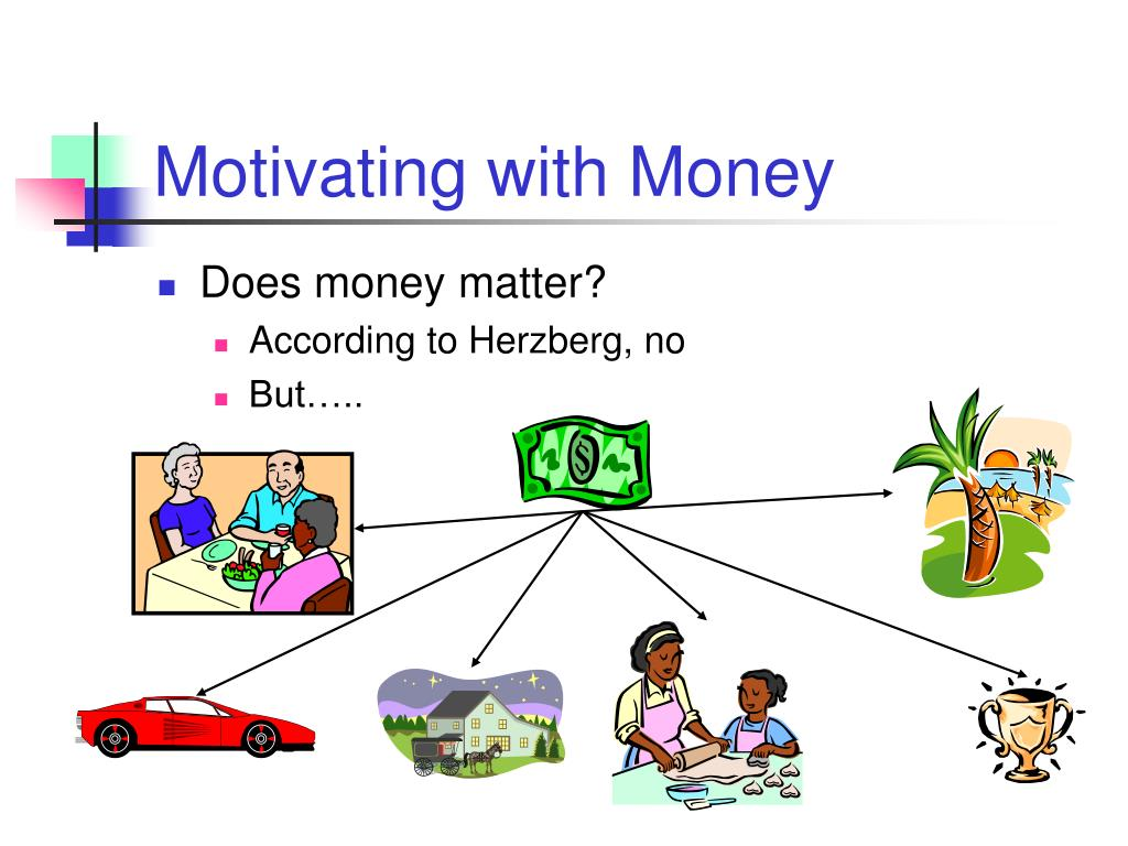 Motivating with Money