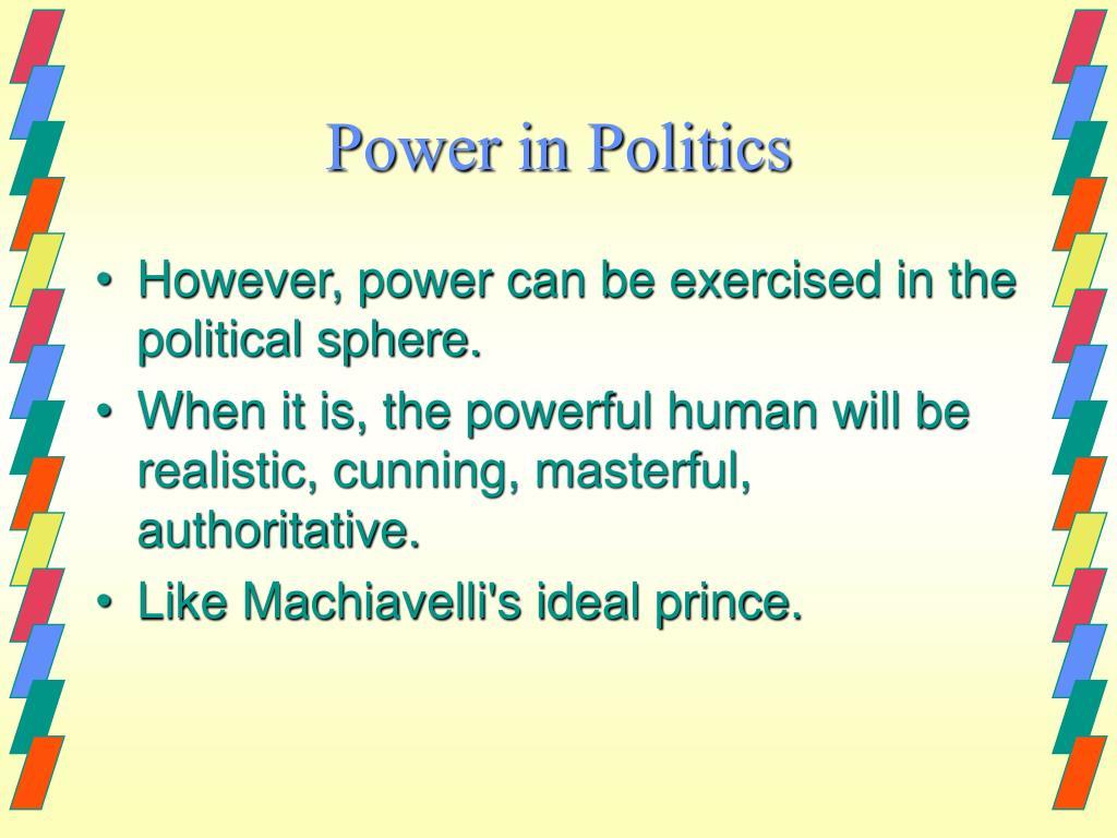 Power in Politics