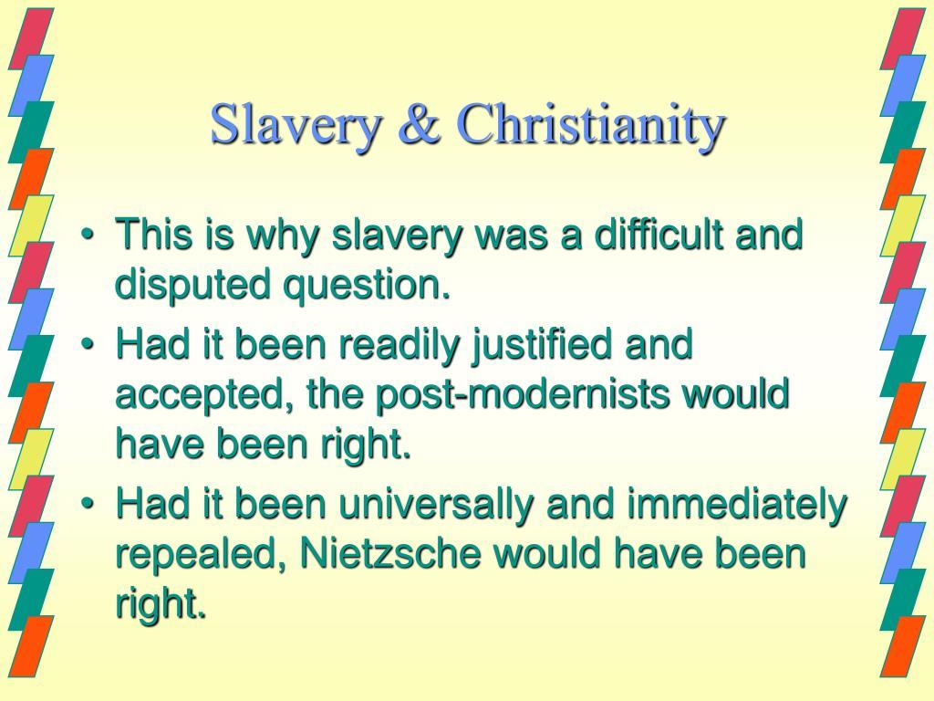 Slavery & Christianity