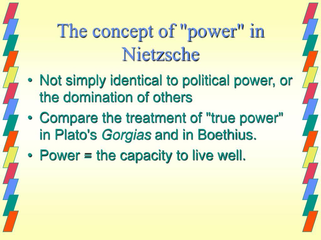 """The concept of """"power"""" in Nietzsche"""