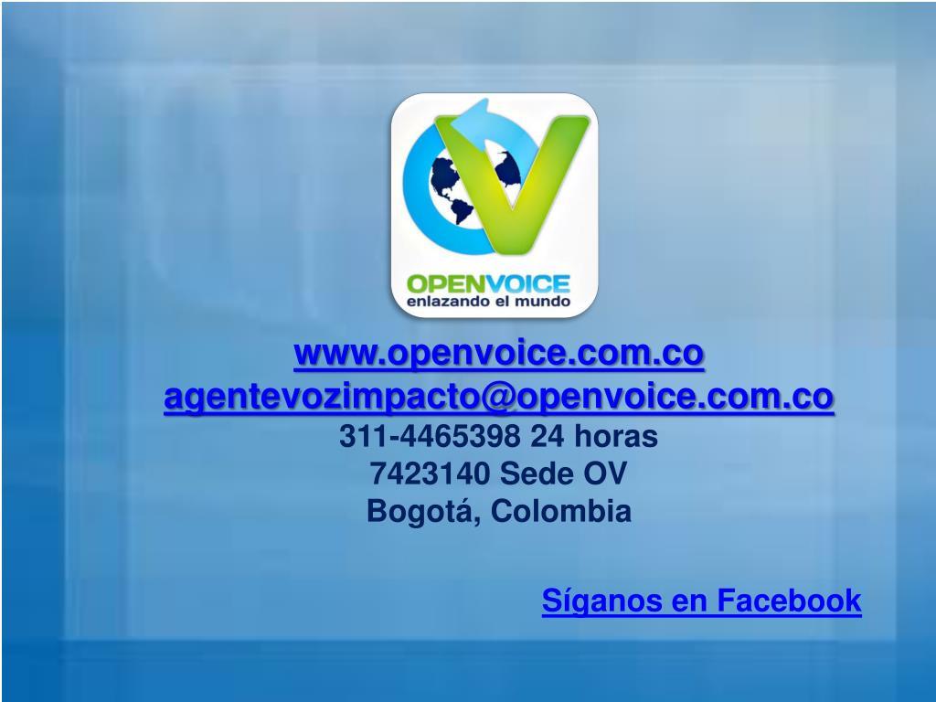 www.openvoice.com.co