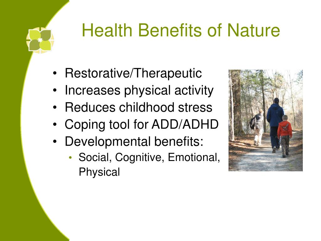 Health Benefits of Nature