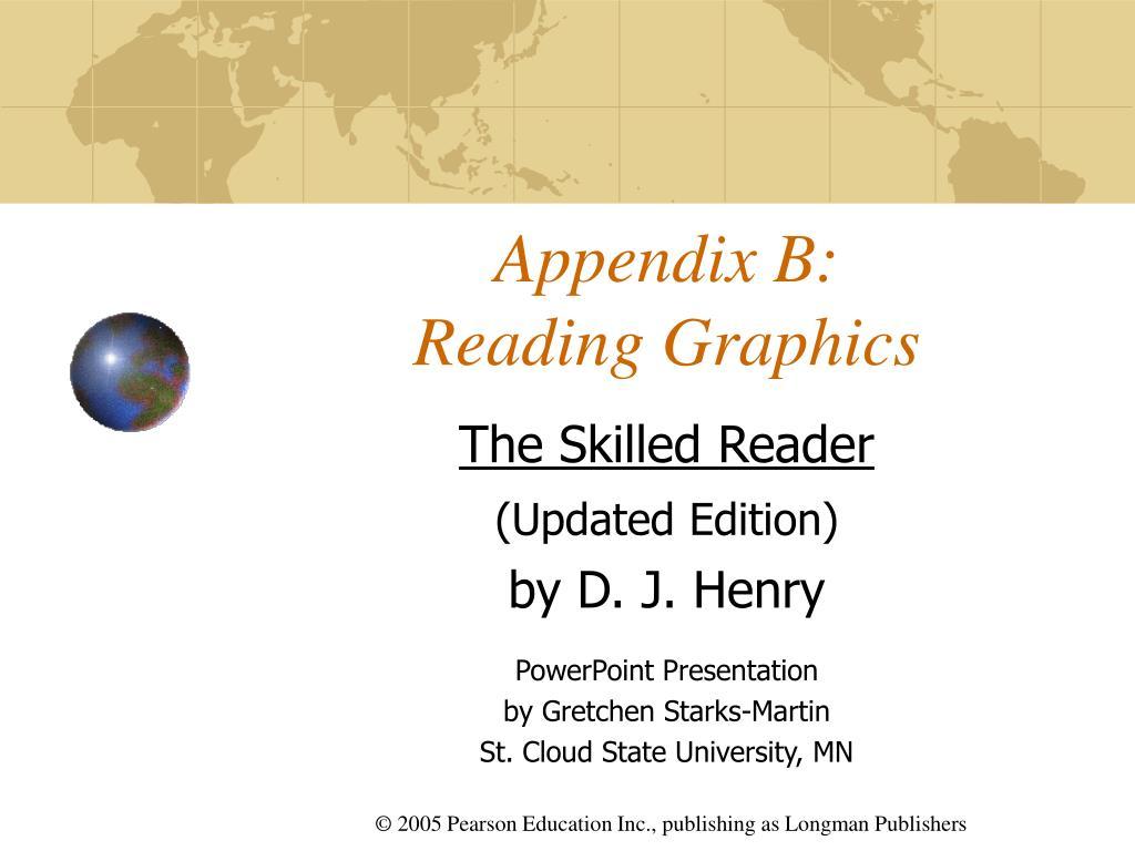 appendix b reading graphics
