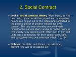 2 social contract