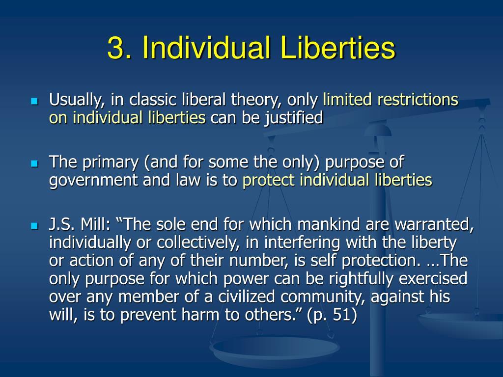 3. Individual Liberties