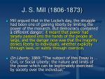 j s mill 1806 187319