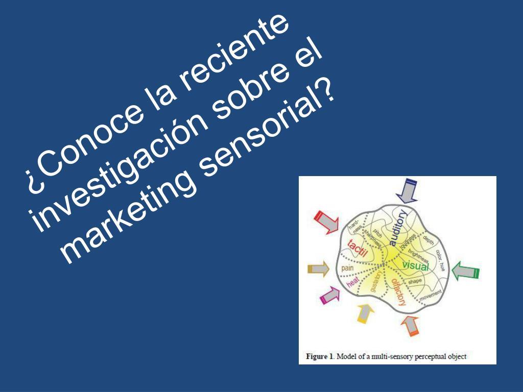 ¿Conoce la reciente investigación sobre el marketing sensorial?