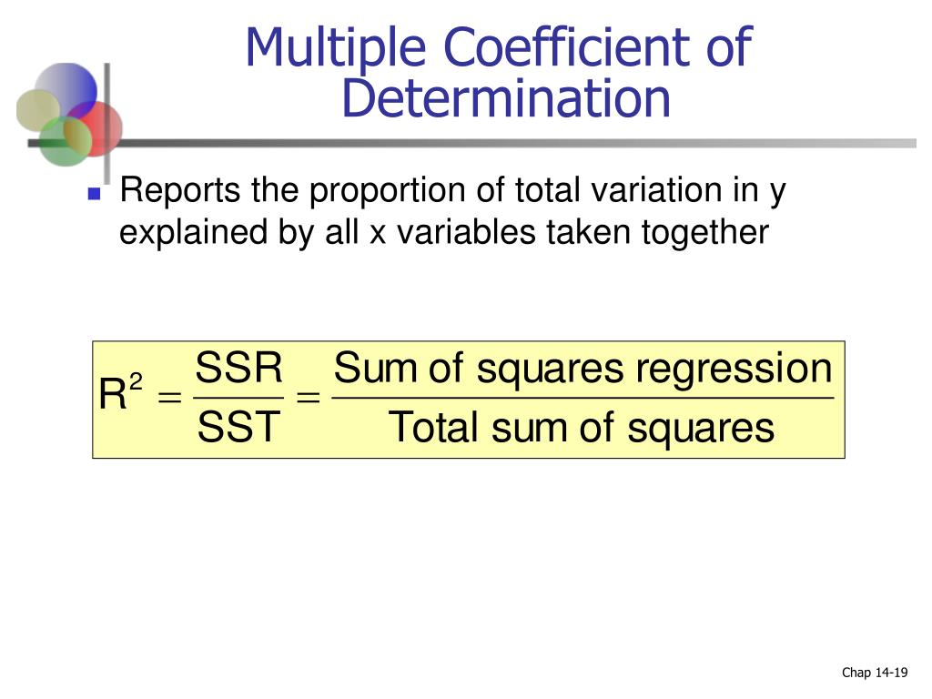 Multiple Coefficient of