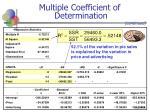 multiple coefficient of determination20