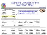 standard deviation of the regression model34