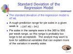 standard deviation of the regression model35