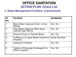 office sanitation action plan check list10