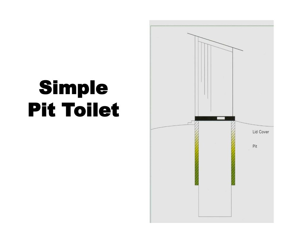 Simple Pit Toilet