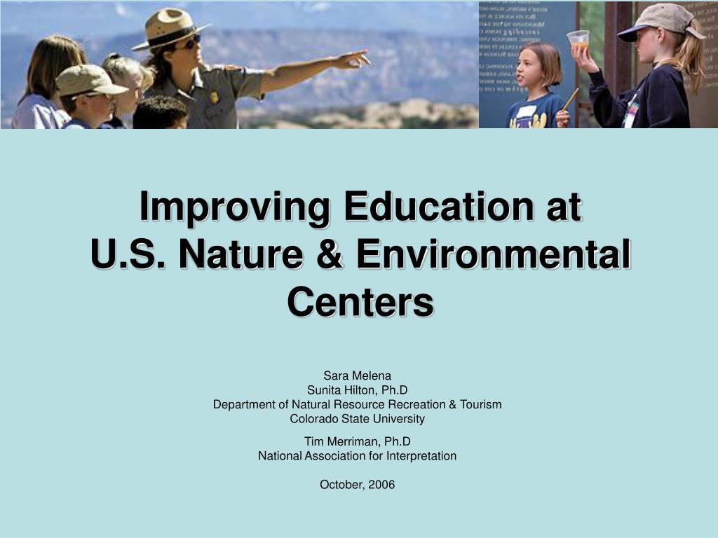 Improving Education at