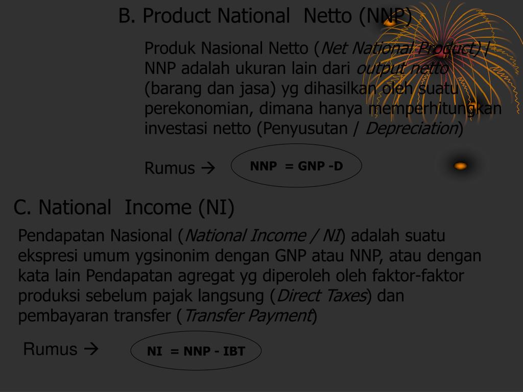 B. Product National  Netto (NNP)