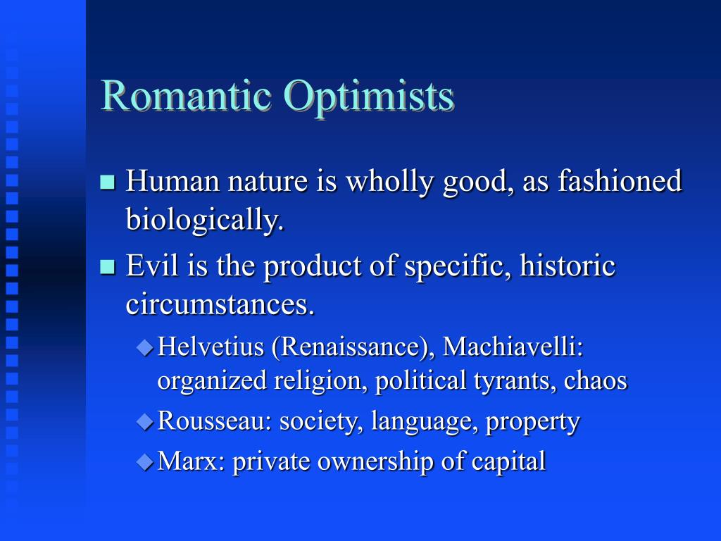 Romantic Optimists