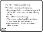 the aip process 2010 114