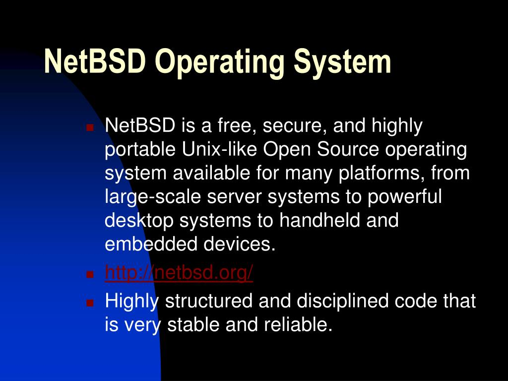 NetBSD Operating System