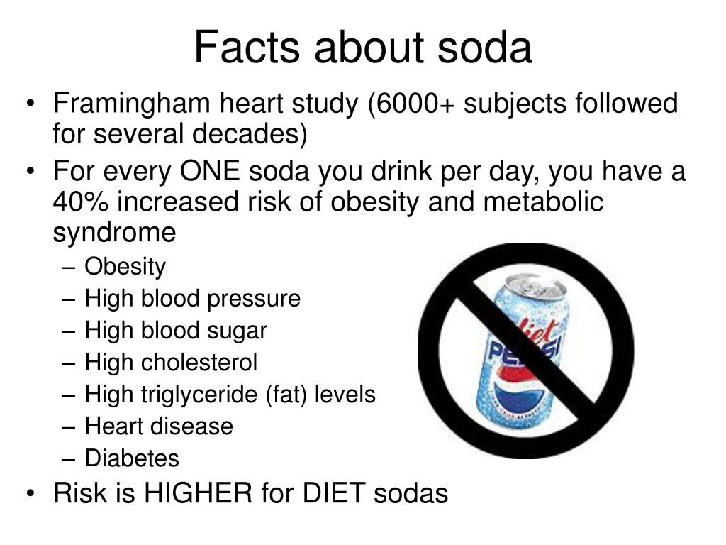 Facts about soda