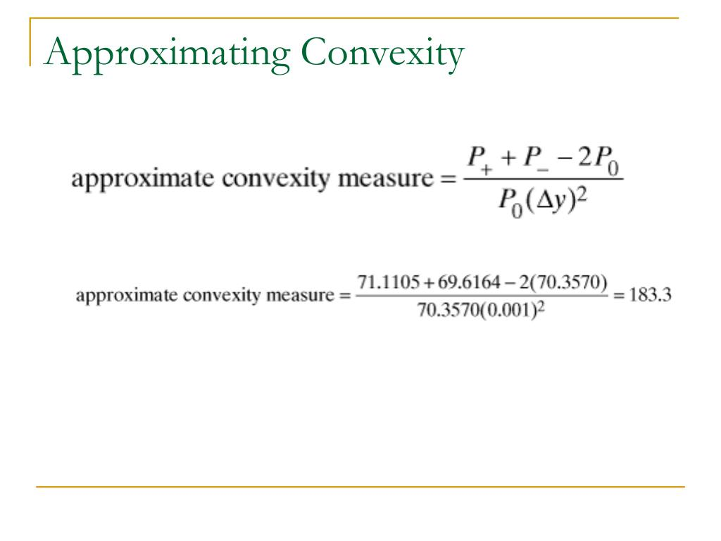 Approximating Convexity
