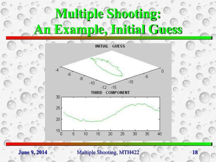 Multiple Shooting: