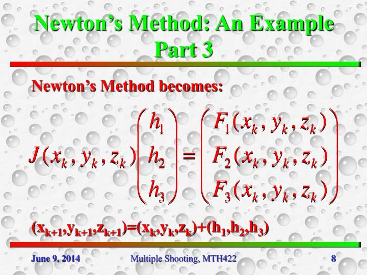 Newton's Method: An Example Part 3