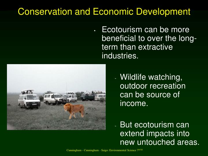 Conservation and Economic Development