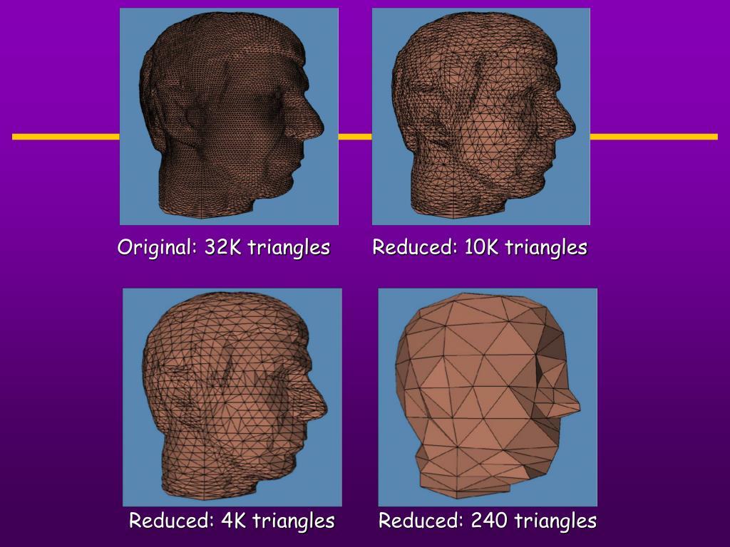 Original: 32K triangles