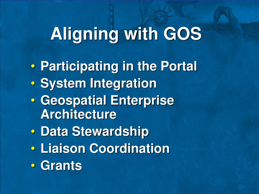 Aligning with GOS