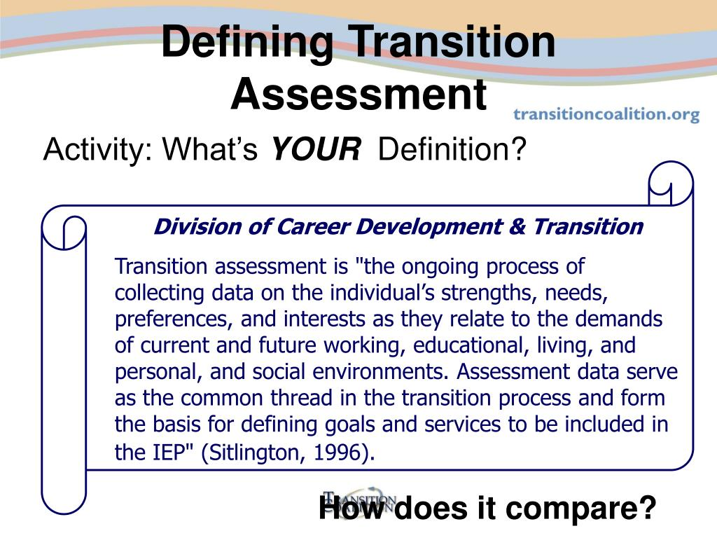 Division of Career Development & Transition