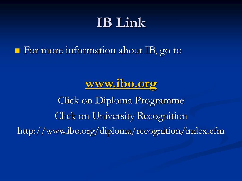 IB Link