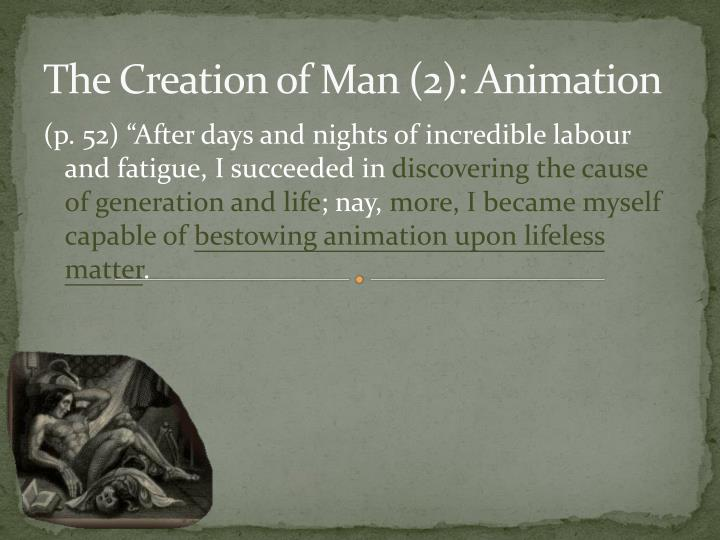 The Creation of Man (2): Animation