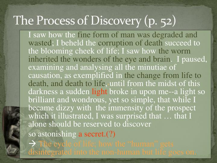 The Process of Discovery (p. 52)