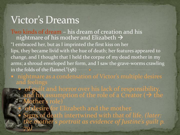 Victor's Dreams