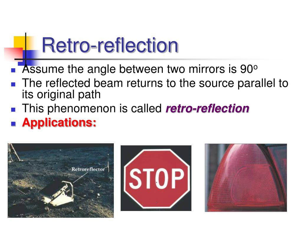 Retro-reflection