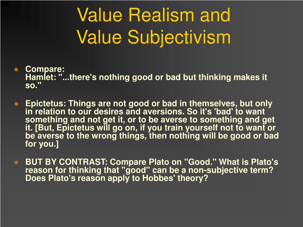Value Realism and