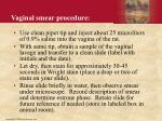 vaginal smear procedure