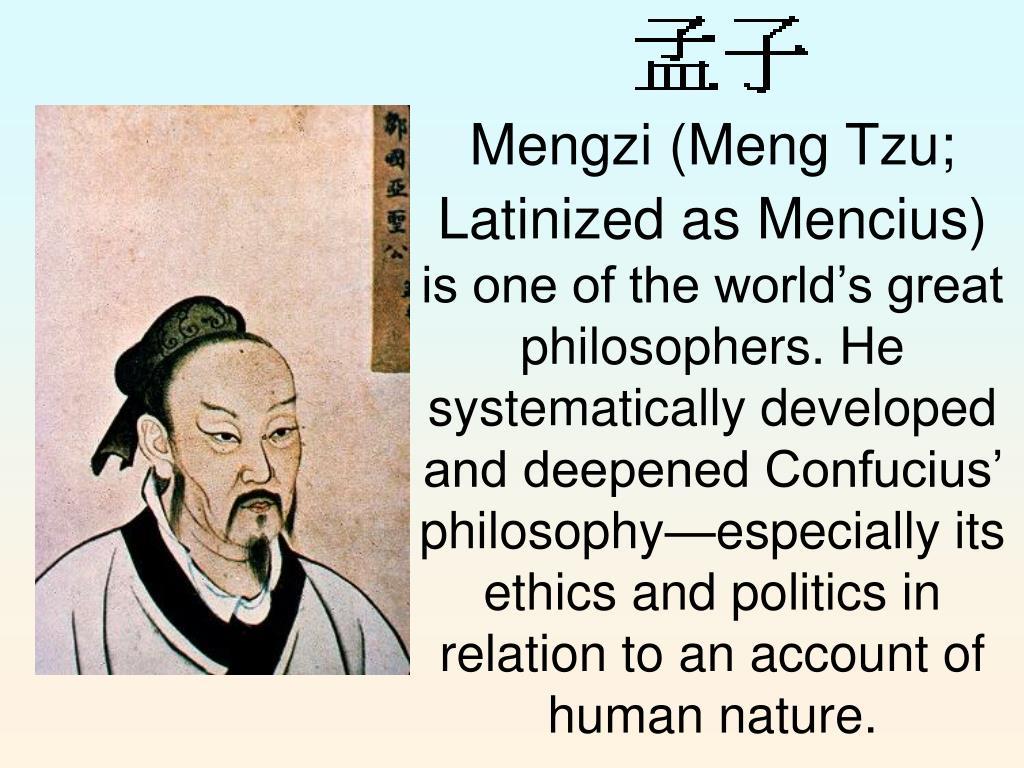 Mengzi (Meng Tzu;