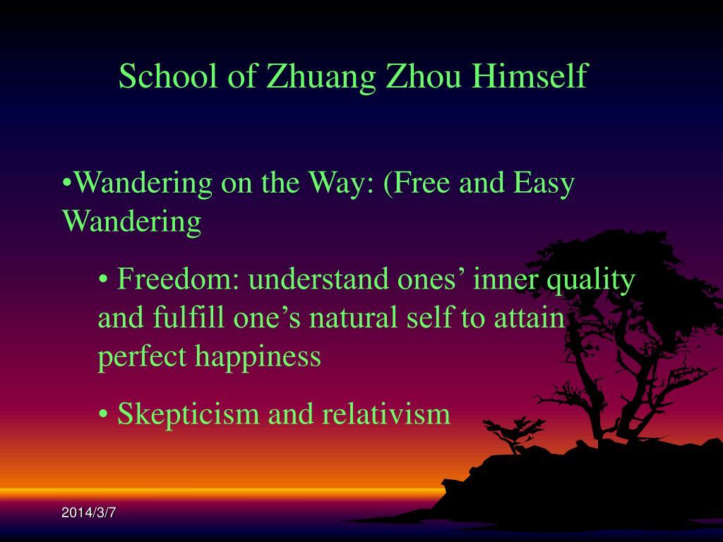 School of Zhuang Zhou Himself