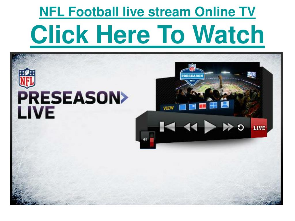 NFL Football live stream Online TV