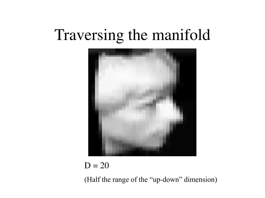 Traversing the manifold
