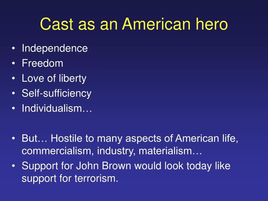 Cast as an American hero