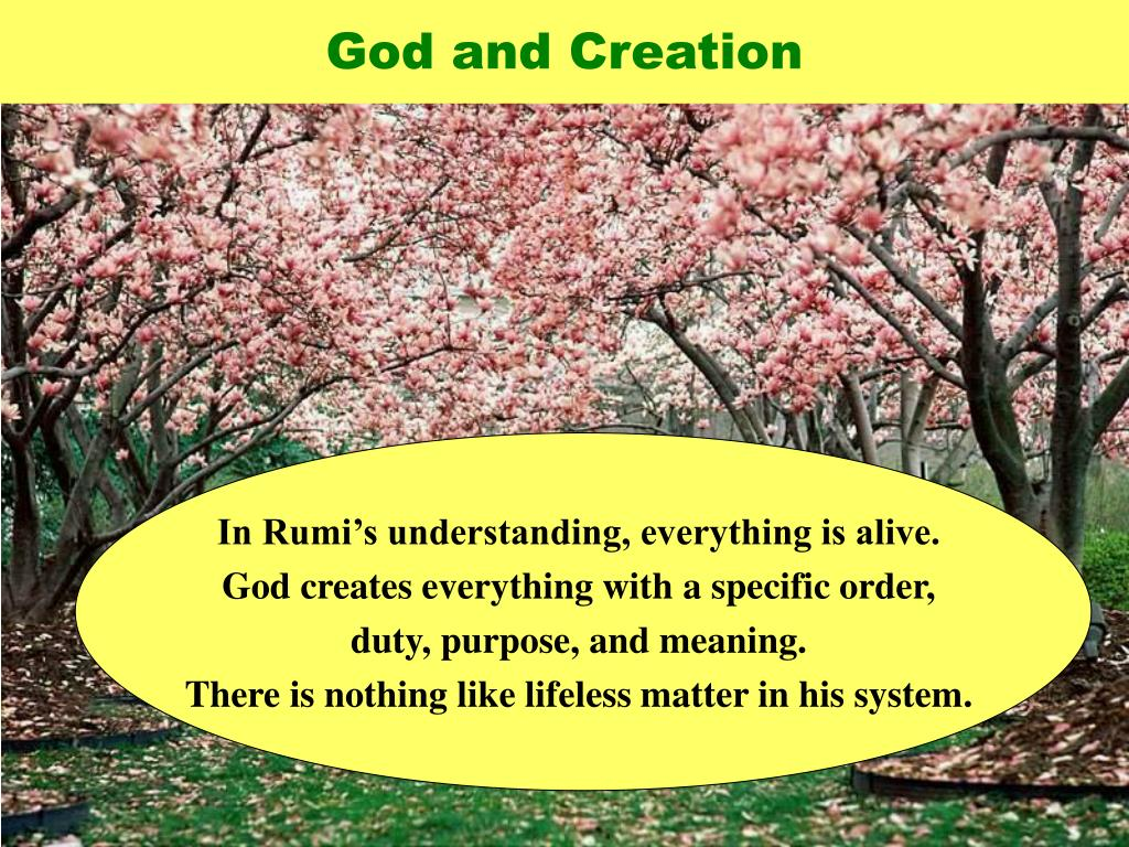 God and Creation