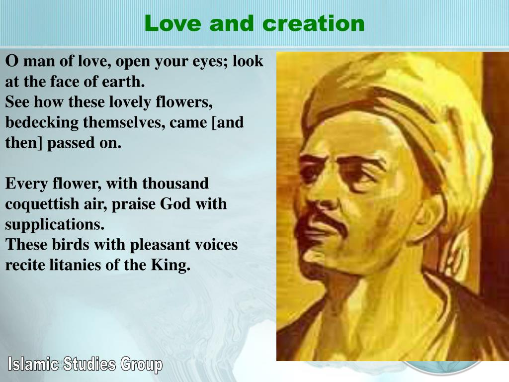 Love and creation